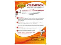 Looking for Leaflets distributors
