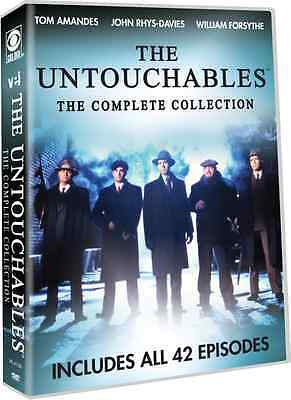 The Untouchables: Complete Remake TV Series Seasons 1 & 2 Boxed DVD Set NEW!
