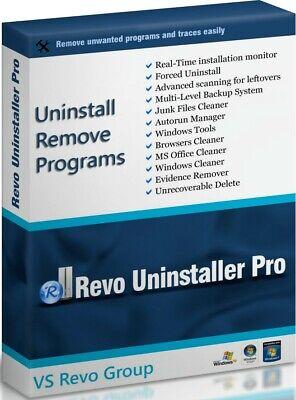 Revo Uninstaller Pro 3 - 1 PC, Lifetime Key, Windows,