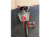 ONE DIRECTION CHILDS BIKE AGE 4-5