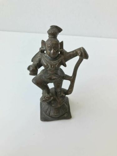 Southeast Asian bronze figure, Indian bronze, Antique, Vishnu?