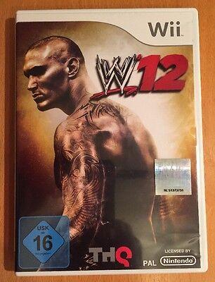 WWE '12 (Nintendo Wii, 2011, DVD-Box) ()