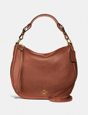 Coach Sutton Hobo Shoulder Crossbody Bag In Saddle Brown Leather..NEW..RRP £325