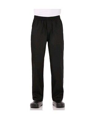Chef Works Mens Essential Baggy Chef Pants