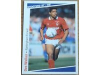 VARIOUS NOTTINGHAM FOREST FOOTBALL CARDS