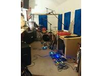 REHEARSAL ROOM AVAILABLE TO SHARE WITH ANOTHER BAND