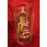 VINTAGE 1970's COCA COLA COLLECTABLE GLASS SERIES 1 RARE!!!