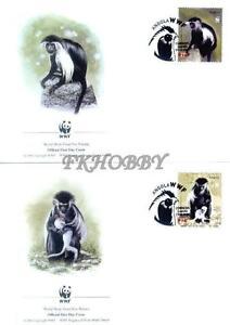 Angola 2004 Mi FDC 1745-48 WWF Animals Pets Tiere Monkeys Affen Singes Małpy - <span itemprop=availableAtOrFrom> Dabrowa, Polska</span> - Angola 2004 Mi FDC 1745-48 WWF Animals Pets Tiere Monkeys Affen Singes Małpy -  Dabrowa, Polska