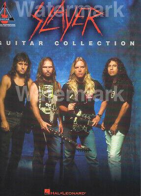 Hal Leonard Slayer Guitar Collection Tab Songbook King Hanneman Araya 15 Songs (King Guitar Tab Songbook)