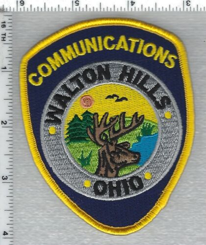Walton Hills Police (Ohio) Communications Shoulder Patch