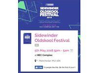 4 SUPER VIP Sidewinder Tickets