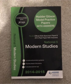 National 5 Modern Studies Past Papers