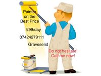 Painter&Decoration Painter in Gravesend! Best Price!