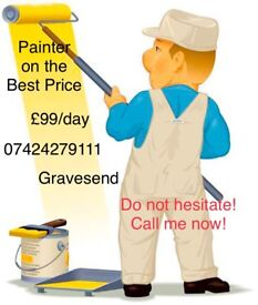 Painter in Gravesend! Call me:07424279111