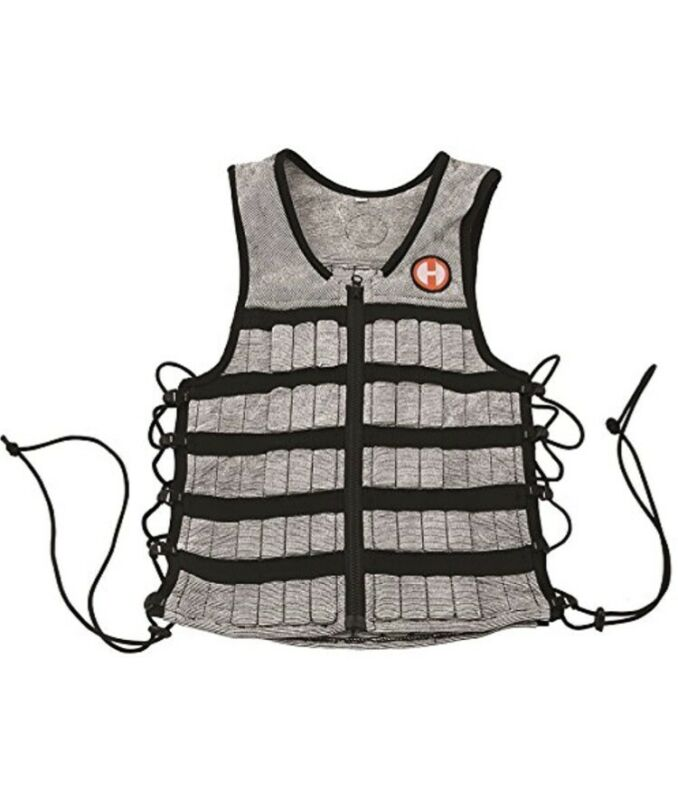 Hyperwear Hyper Vest PRO Unisex 10-Pound Adjustable Weighted Vest - Size Small