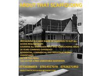 About that scaffolding ltd scaffold hire and erection