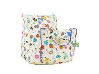 Kids bean bag with arm chair