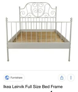 IKEA bed frame and mattress set
