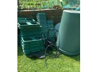 auto pot grow system 57 pots hydroponic - grow your own- bargain