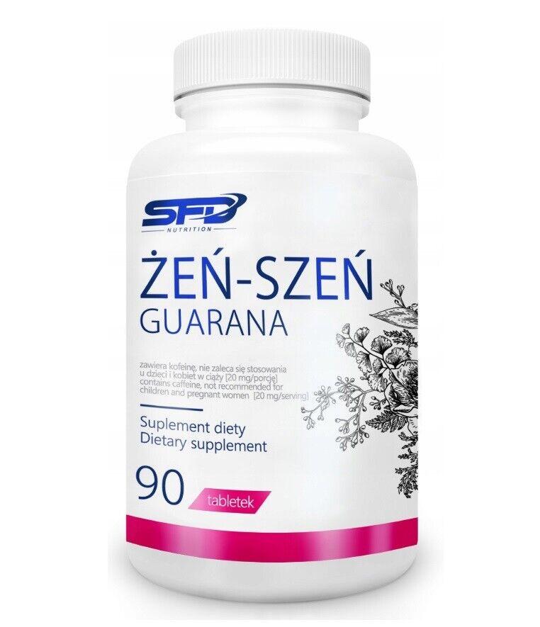 Ginseng Guarana 90 Tabletten Immunität Gesundheit Stress Reduzierung Gedächtnis