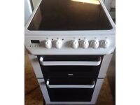 ZANUSSI 50cm ELECTRIC COOKER, NEW MODEL ,EXCELLENT CONDITION, 4 MONTHS WARRANTY