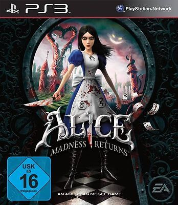Sony PS3 Playstation 3 Spiel Alice Madness Returns American McGees 2 NEU*NEW