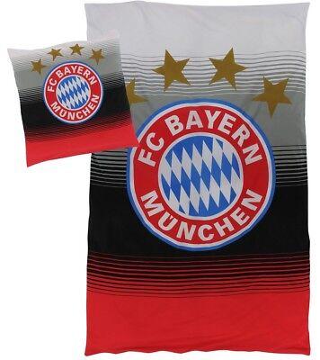 Bettwäsche FAN zur Kuschel Decke im Trikot Design 2018 FC Bayern München