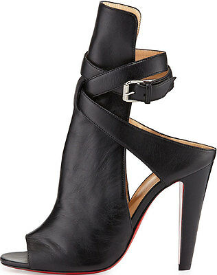 Christian Louboutin Hippik - Black Leather 39