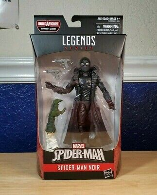 NIP New Marvel Legends Spider-Man Noir Action Figure BaF Lizard