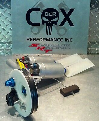 SRT4 DCR Dual 044 Fuel Pump Assembly Stock to 1200hp E85  all Gasoline Safe