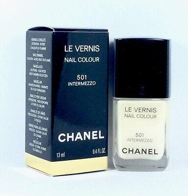 Le Vernis Nail (CHANEL LE VERNIS Nail Colour 501 Intermezzo 13ml & Original Verpackt)