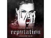 Taylor Swift 2x Tickets Selling Cheap - 15th June 2018, Dublin