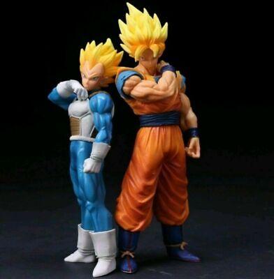 Dragon Ball Z Super Saiyan & Goku Son Gokou Vegeta Action Figures Anime Statue ()