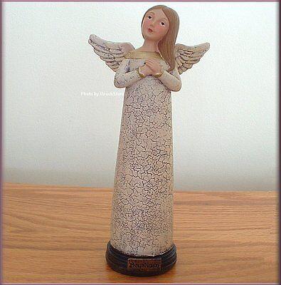 Baptism Angel Figurine - BAPTISM PRAYER ANGEL FIGURINE BY TERESA KOGUT 7.5 INCHES HIGH FREE U.S. SHIPPING