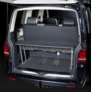 vw t5 multivan multiflexboard bed extension tray variant. Black Bedroom Furniture Sets. Home Design Ideas