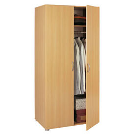 2 DOOR WARDROBE ASSEMBLED FREE LOCAL DELIVERY