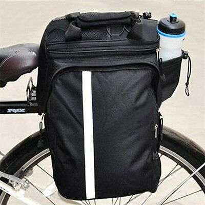 95a07cc3e4c Cycling Bicycle Bike Pannier Rear Seat Bag Rack Trunk Handle Handbag  Storage KG