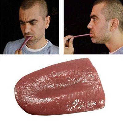 Magician Trick Prop Fake Life Like Tongue Halloween Magic Prank T5
