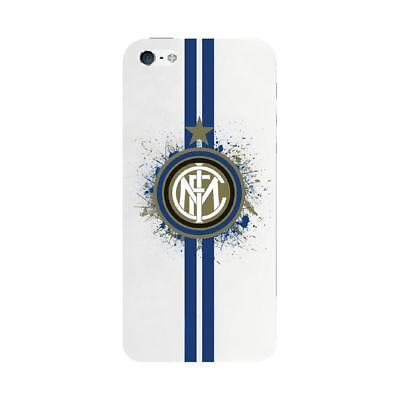 IPHONE 5/5S/SE COVER CUSTODIA SEMI RIGIDA STAMPA INTER SQUADRA 2 usato  Italia