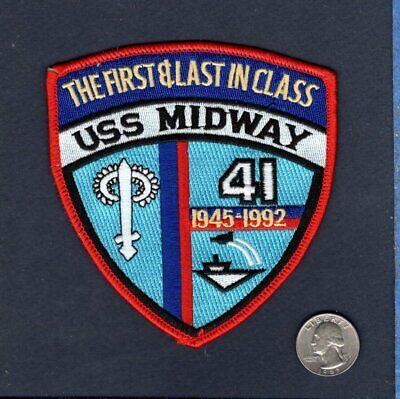 US NAVY USS MIDWAY CVA-41 Military Hat Pin 15542 HO