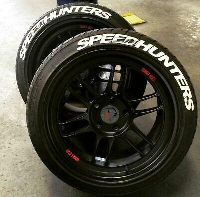 Reifenbeschriftung permanente Reifen Sticker SPEEDHUNTERS Reifenaufkleber 4xSET