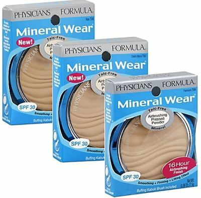 - Physicians Formula Mineral Wear Airbrushing Pressed Powder ~Choose From 3 Shades
