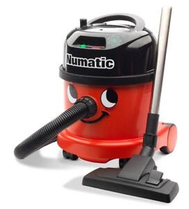 Numatic Nacecare Canister Vacuum With Tools 2 Speed 4 Gal 114 Cfm 1200W 49Db Red