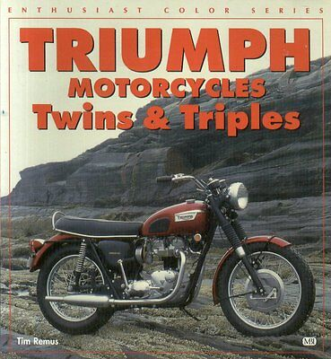 TRIUMPH TIGER THUNDERBIRD TROPHY BONNEVILLE & TRIPLES PRODUCTION HISTORY BOOK