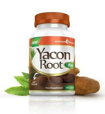 Yacon Root Pure 500mg 60 Weight Loss Diet Slimming Capsules Evolution Slimming