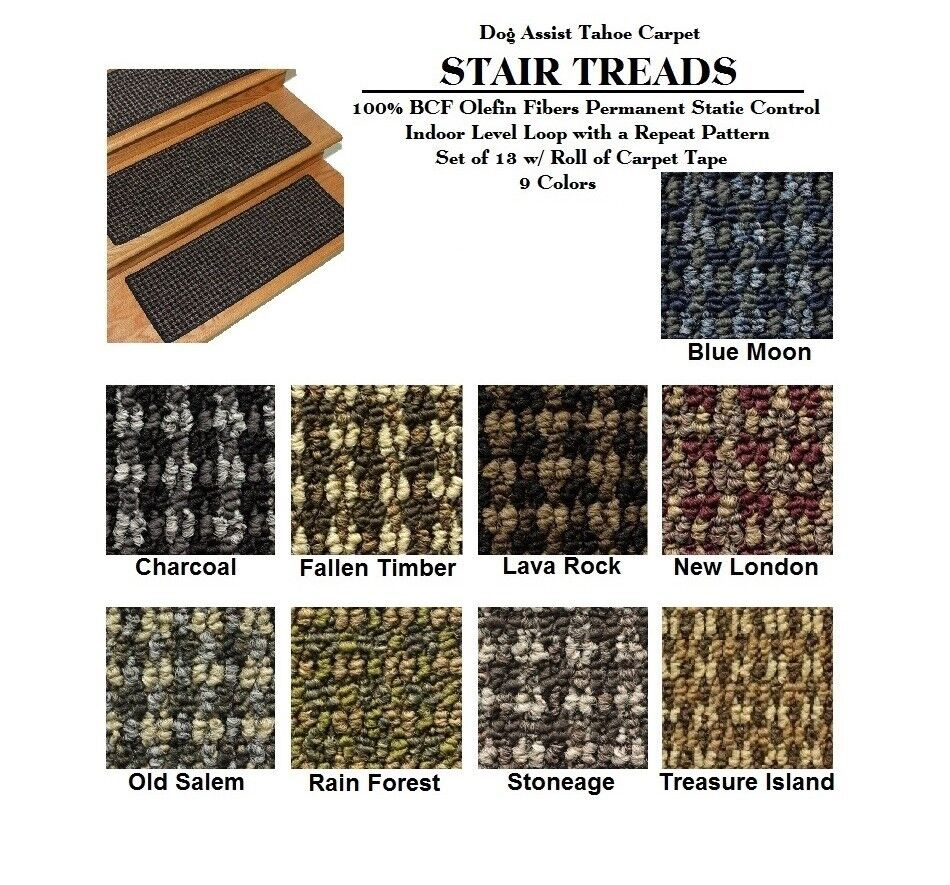 Koecritz Tahoe Dog Assist Carpet Stair Treads 2 Sizes And...