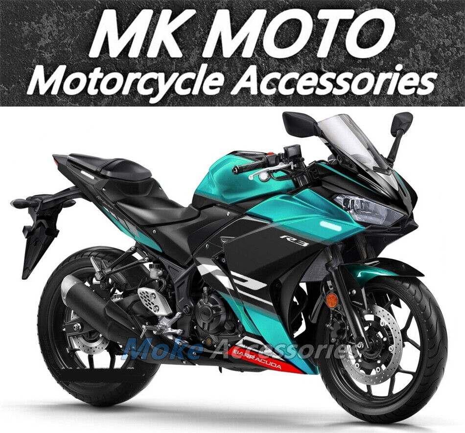 details about fairings kit fit for yamaha yzf r3 r25 2014 2016 2018 bodywork set abs petronas