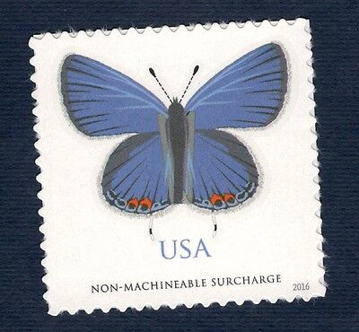 5136 EASTERN TAILED BLUE BUTTERFLY US SINGLE MINT/NH FREE SHIPPING OFFER