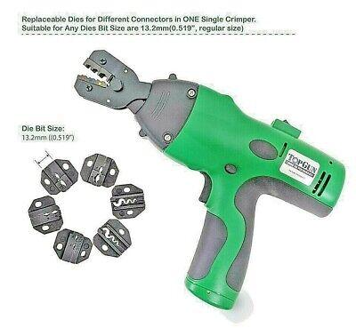 Electric Crimp Battery Powered Crimping Tool Versus Greenlee Ek50ml13811 - New