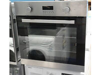 E214 stainless steel lamona single electric oven comes with warranty can be delivered or collected
